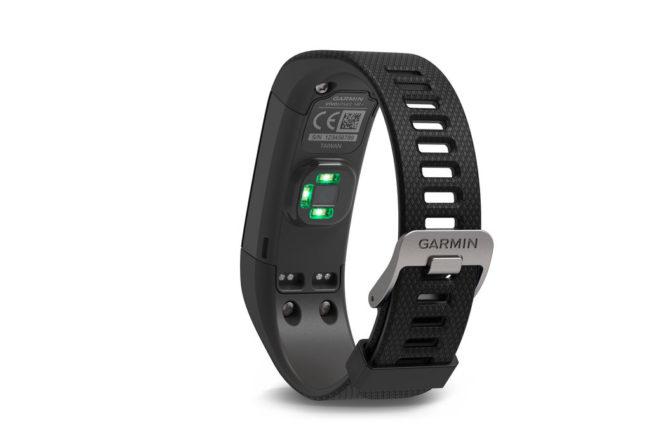 Garmin Vivosmart HR+ pulse sensor