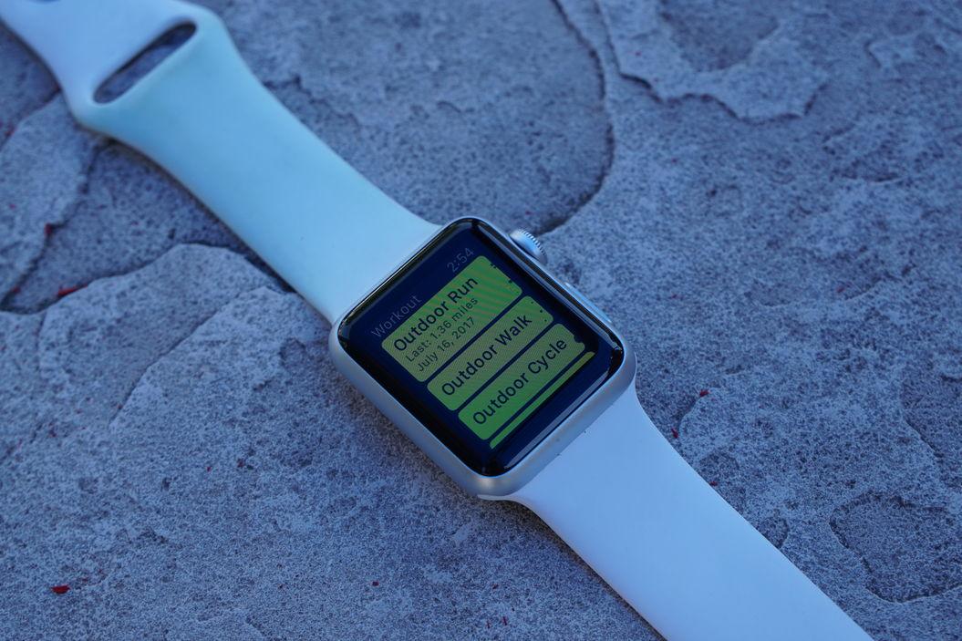 Apple Watch sport profiles
