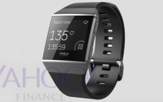 Fitbit Higgs Smartwatch (Screenshot: finance.yahoo.com)