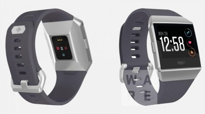 Fitbit with red LEDs (Screenshot: Wareable)