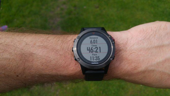 Fenix 5 Running Test