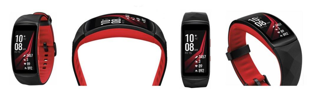Samsung Gear Fit2 Pro (Source: VentureBeat)