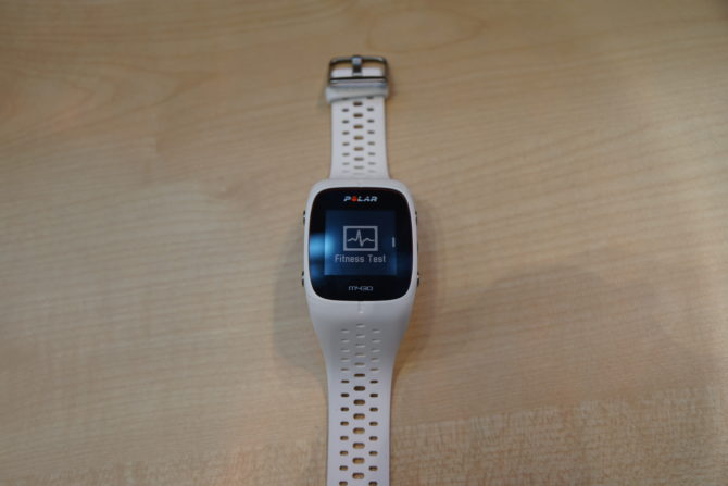 Polar M430 Fitness Test
