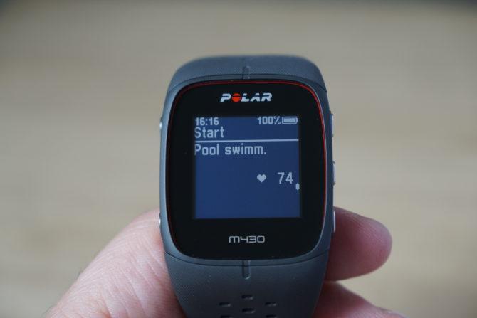 Polar M430 Schwimming