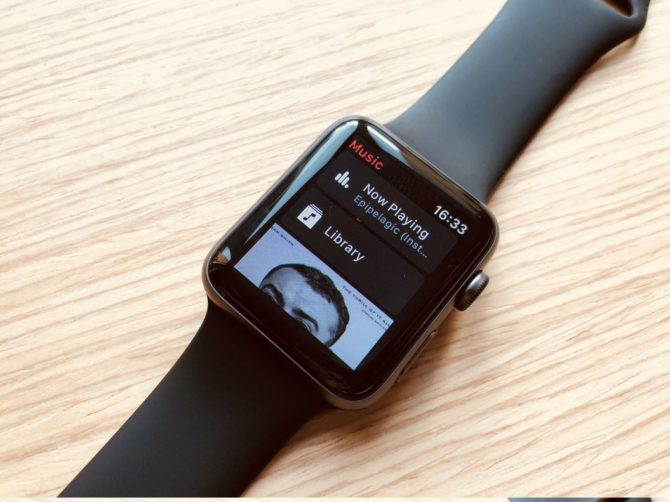 Play Apple Watch 3 music directly from the clock