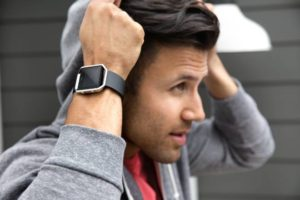 Fitbit Blaze in black (Source: Fitbit)