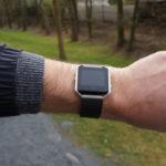 Fitbit Blaze on men's wrist