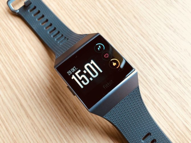 Fitbit Ionic Test – Display