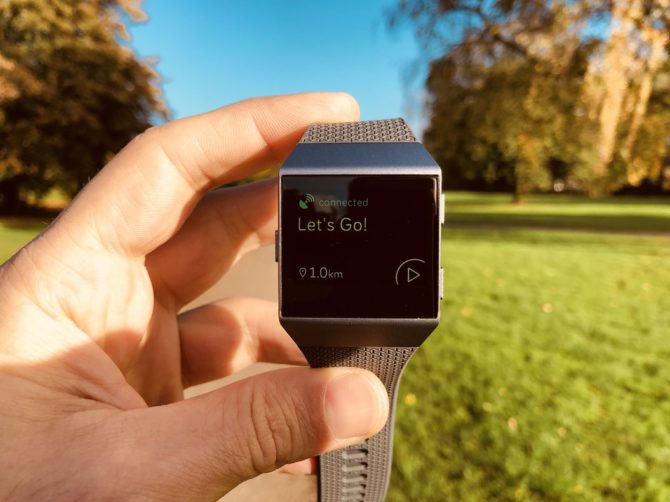 Fitbit Ionic Review - GPS