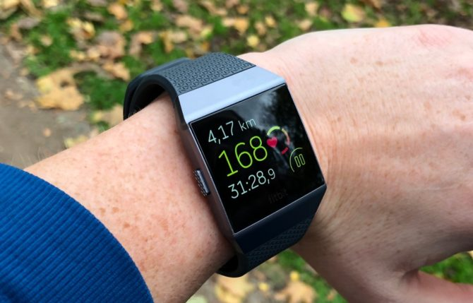 Fitbit Ionic Heart Rate Monitor