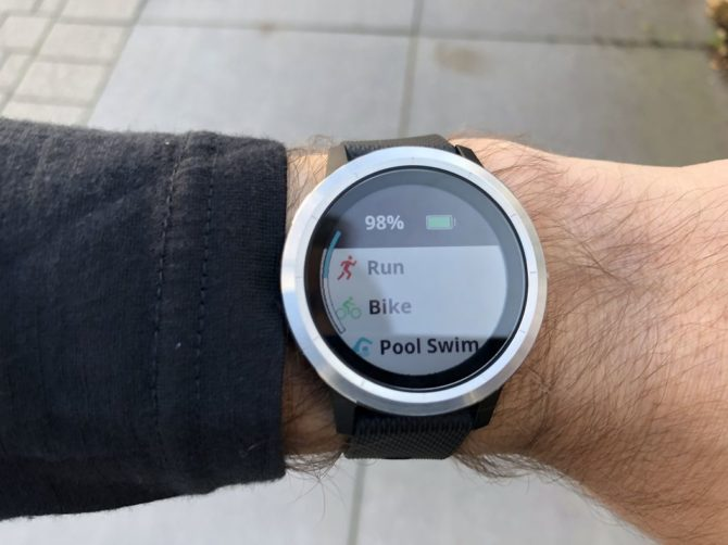 Vivoactive 3 Review - Running