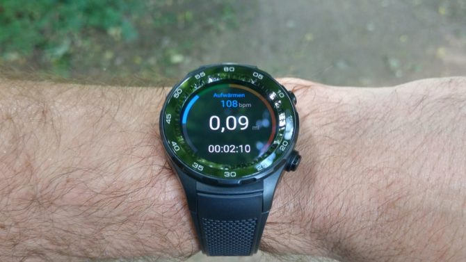 Huawei Watch 2 Fitness Overview
