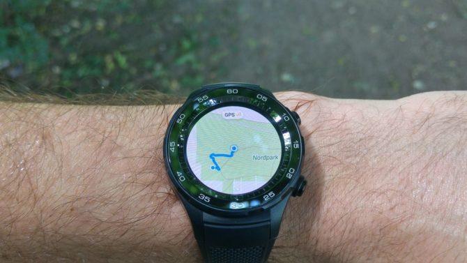 Huawei Watch 2 track recording