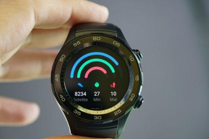 Huawei Watch 2 day activities