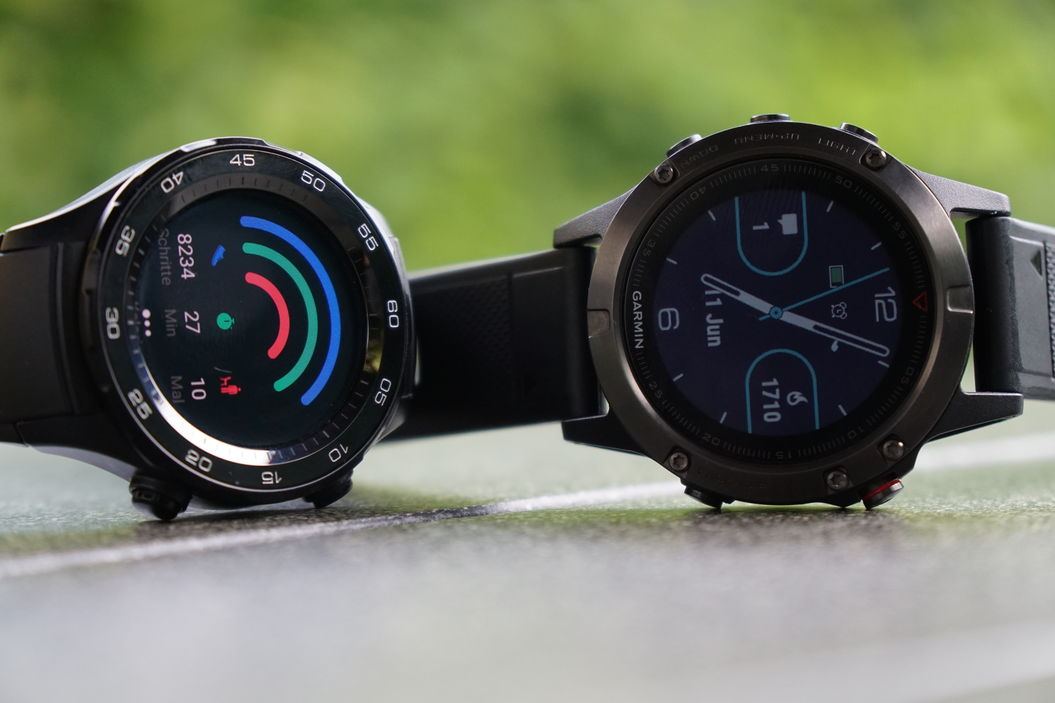 Huawei Watch 2 vs. Fenix 5