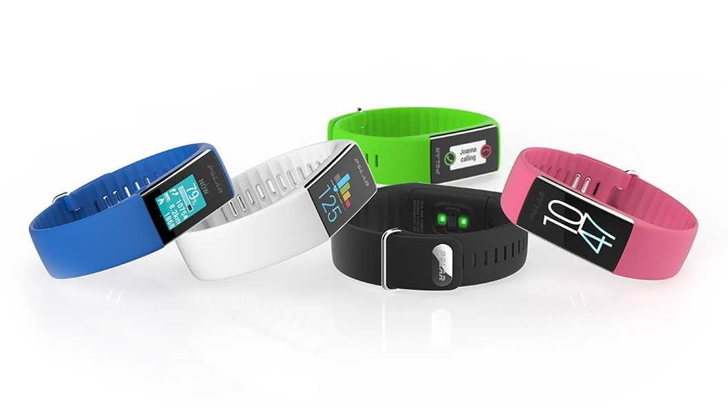Step Tracker Wristband Polar A360 Family (Source: Polar Electro)