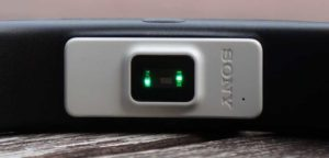 Pedometer Sony SmartBand 2 heart rate sensor