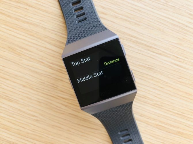 Fitbit Ionic Data Field