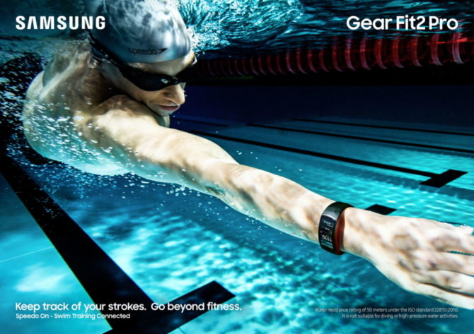 Samsung Gear Fit2 Pro (Picture: Samsung)