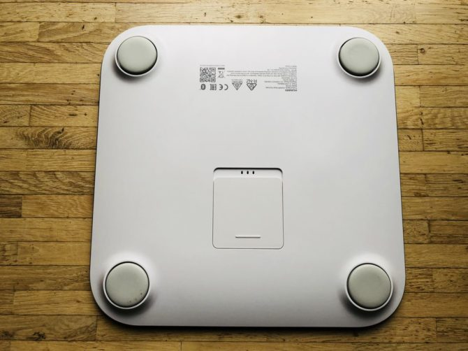 Huawei Body Fat Scale Underside