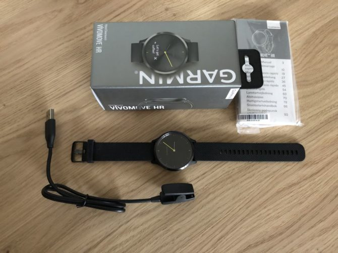 Garmin Vivomove HR Unboxing