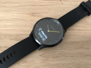 Garmin Vivomove HR pulse & resting pulse