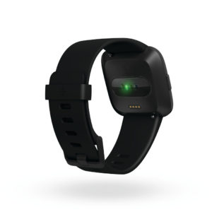 Fitbit Versa heart rate monitor (Image: Fitbit)