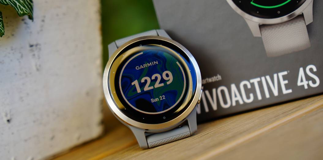 Garmin Vivoactive 4 is prepared for the test