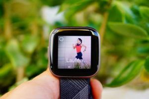Fitbit Versa 2 Test: Training