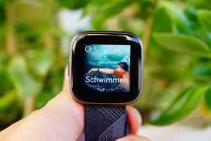 Fitbit Versa 2 Test: Training