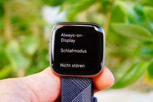 Fitbit Versa 2: Alwas-on Option