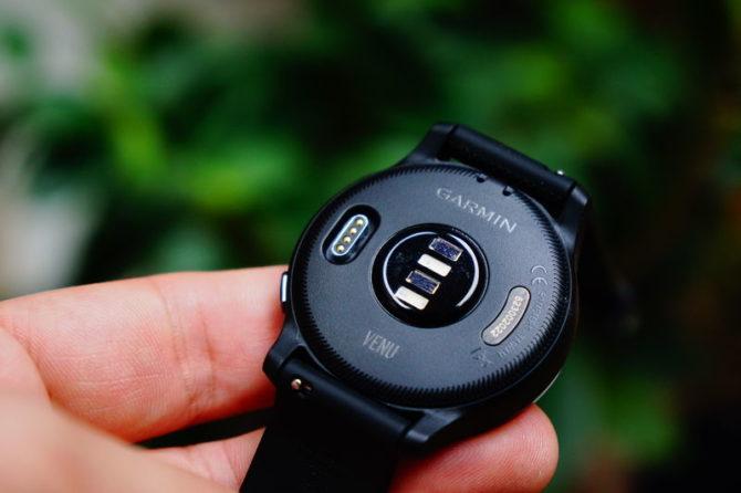 Garmin Venu: Quick-change wristbands