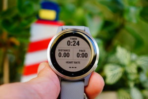 Garmin Vivoactive 4: Data page