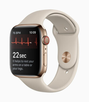 Apple Watch 4 ECG (Image: Apple)