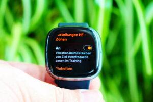 Fitbit Sense: sport profile