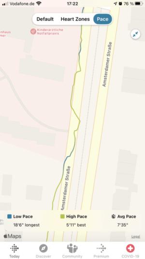 Fitbit Versa 3: GPS sometimes jagged