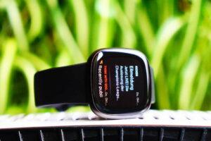 Fitbit Versa 3: Smartphone notifications
