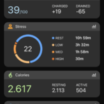 Garmin Connect 24/7 activity tracker