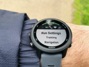 Garmin Forerunner 245 test: running