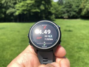 Garmin Forerunner 245 review: display