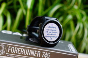 Garmin Forerunner 745: Smartphone Notifications