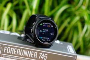 Garmin Forerunner 745: up to 3 widgets