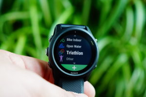 Garmin Forerunner 745: Triathlon / multisport mode