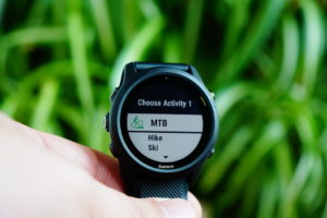 Garmin Forerunner 745: Freely configurable multisport mode