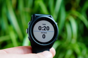 Garmin FR745 Triathlon: total time / distance