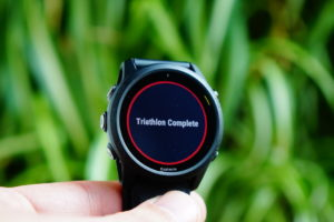 Garmin Forerunner 745 triathlon mode ended