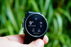 Garmin Forerunner 745: Widget open