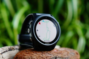 Garmin Forerunner 745: Map as a separate page
