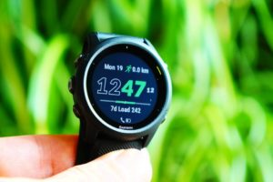 Garmin Forerunner 745: 7d Load (training load)