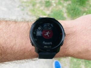 Polar Grit X: Activity with Komoot Route